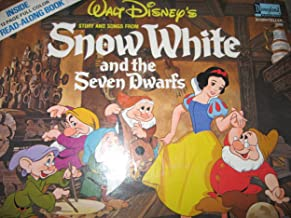 SNow White and the Seven Dwarfs Motion Picture Soundtrack w/ 12 Pg Storybook