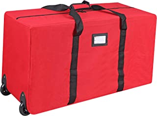 Primode Holiday Rolling Tree Storage Bag, Large Heavy Duty Storage Container, 22