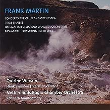 Frank Martin, concerto, trois danses, ballade, passacaille