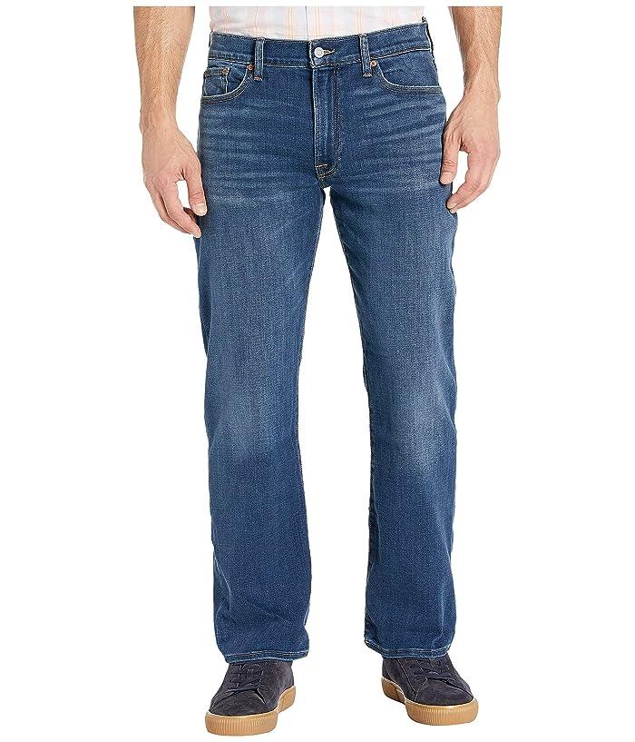 Lucky Brand  363 Vintage Straight Jeans in Heron Isle (Heron Isle) Mens Jeans