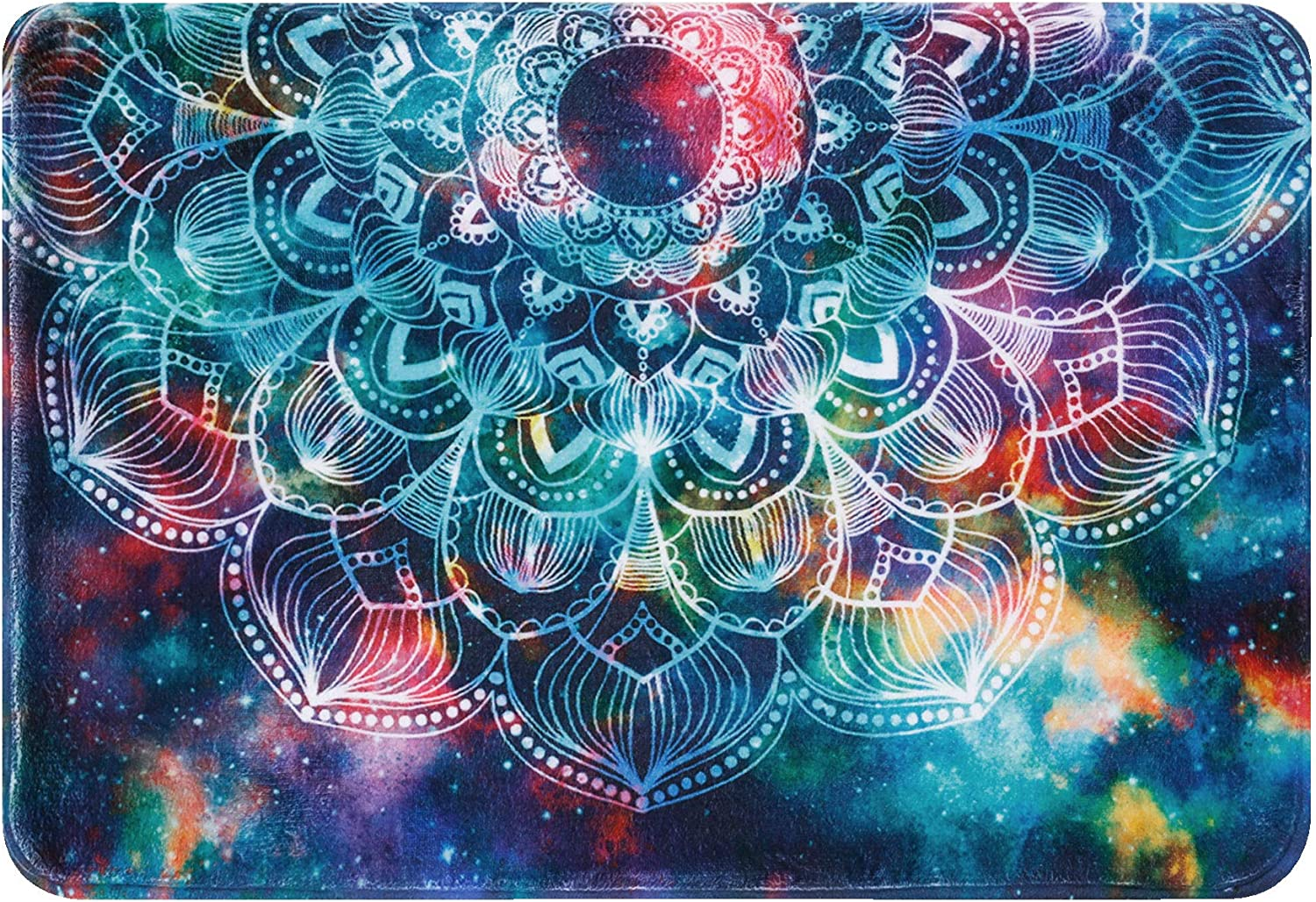 Mandala Bath Mat New product! New type Floral Rugs Colorful Deluxe Bathroom Supe