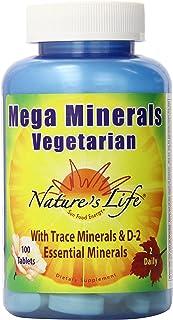 Nature's Life Vegetarian Mega Minerals | 100 ct