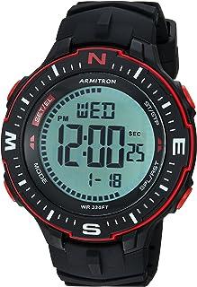 ساعة يد Armtron Sport للرجال 40/8391BRD باللون الأحمر