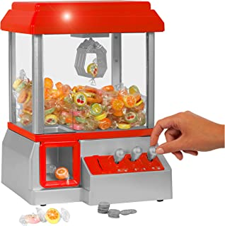GreatTOYS_AND_GAMES Caramelo En Forma De Mano, De Color Rojo