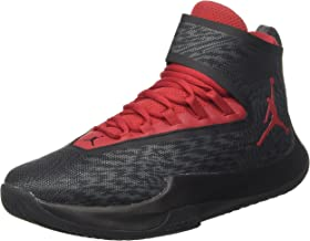 NIKE Men's Jordan Fly Unlimited Basketball Shoe Anthracite/Gym Red-Black 13
