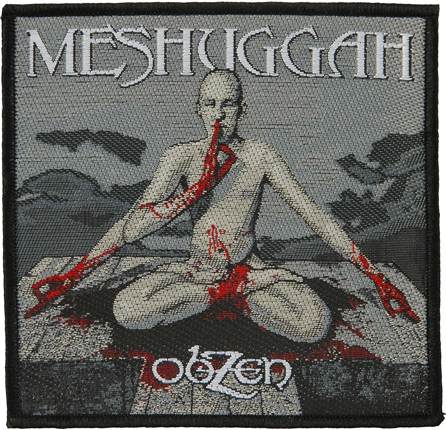 Meshuggah Men's Obzen Patch OFFicial site Limited price sale Woven Black