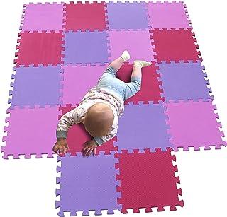 Tapis for Enfants Tapis De Sol for B/éb/é Woyqs Tapis de Sol Puzzle Mousse Carrelage Crawling Mat Tapis De Jeu 50x50x2cm