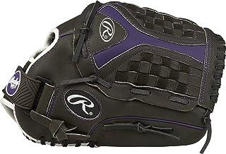 Rawlings Storm 12.5 英寸青年快投垒球手套:ST1250FPUR