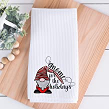 Christmas Kitchen Towels Gnome For The Holidays