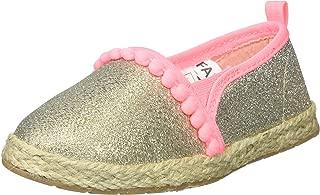 Kids Belle Girl's Beachy Espadrille Flat Loafer