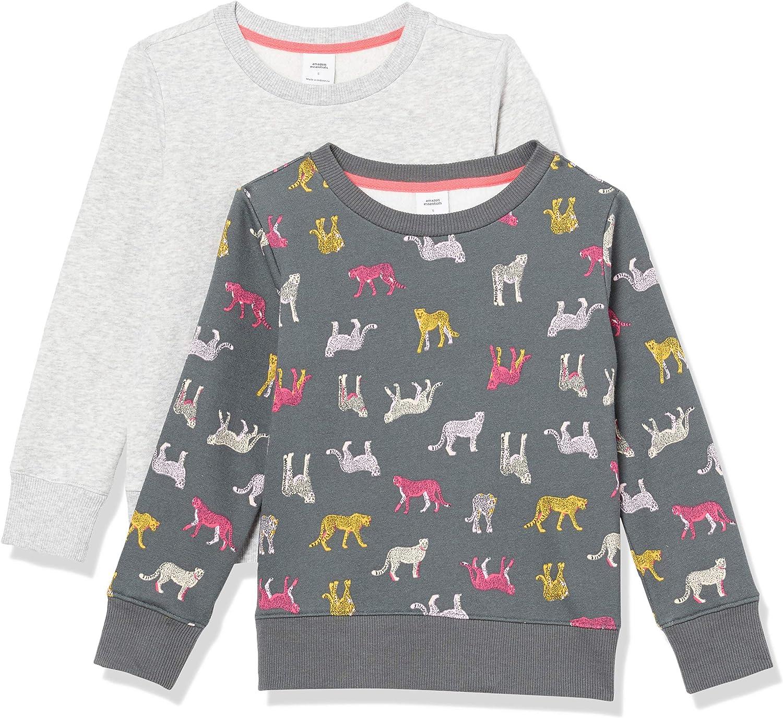Essentials Fleece Crew-Neck Sweatshirts Ni/ñas