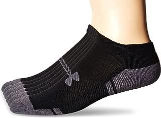 Under Armour Men's Resistor No-Show Socks (6 Pack)
