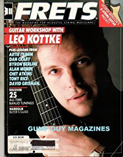 FRETS May 1987 Magazine For Acoustic String Musicians LEO KOTTKE: FINGERSTYLE VISIONARY LEARNS FROM TRADITION Discover 25 All-Time Banjo Tunings MANDOLIN BUYER'S GUIDE Artie Traum - Then And Now