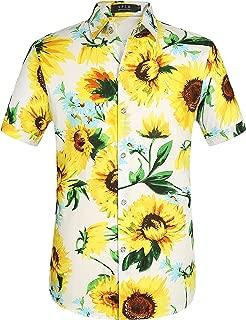 Best sunflower pattern shirt Reviews