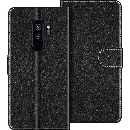 Felfy Kompatibel mit Galaxy S9 Plus Tasche,Kompatibel mit Galaxy S9 Plus H/ülle Flip Case PU Leder /& Silikon Schutzh/ülle Hund Muster Handyh/ülle Magnet Klapph/ülle Brieftasche Lederh/ülle mit St/änder