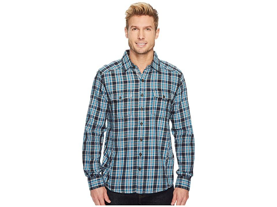 Ecoths Dax Long Sleeve Shirt (Black) Men
