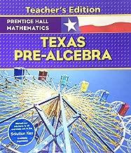 Prentiss Hall Mathematics - Texas Pre-Algebra - Teacher's Edition