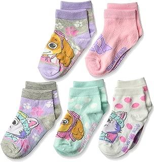 Paw Patrol Little Nickelodeon Girls 5 Pack Shorty Socks