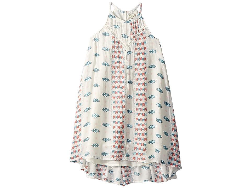 Lucky Brand Kids Sylvie Dress (Little Kids) (Whisper White) Girl