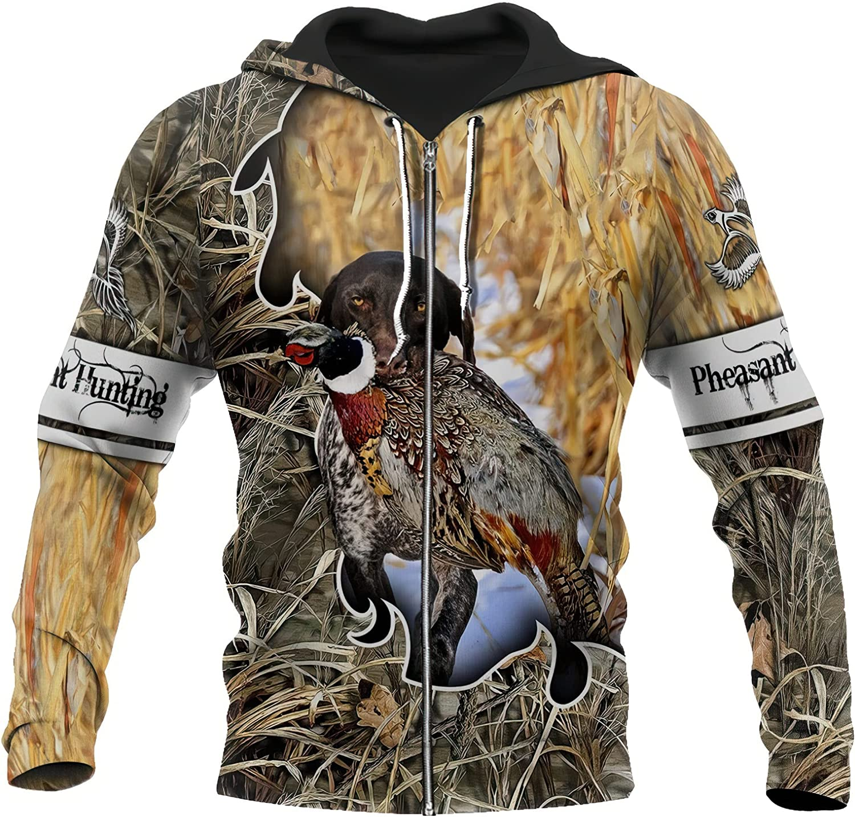 Takra Gold All items free shipping Pheasant Hoodies Duck Sweats Camo Hunting Mens Hoodie Fashion