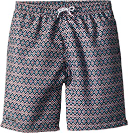 Multi Patterned Swim Shorts (Infant/Toddler/Little Kids/Big Kids)
