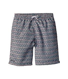 Multi Patterned Swim Shorts (Infant/Toddler/Little Kids/Big Kids)
