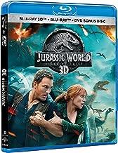 Jurassic World Fallen Kingdom (Jurassic World El Reino Caído) BLU-RAY 3D + BLU-RAY + DVD (English, Spanish and Portuguese Audio & Subtitles) IMPORT