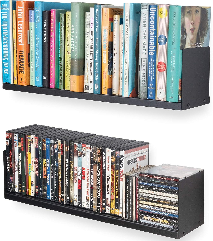 Wallniture Libro Floating quality assurance Directly managed store Shelves U Shape Bookc Shelf Wall Metal