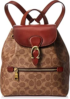 Coach Backpack for Women- Rust