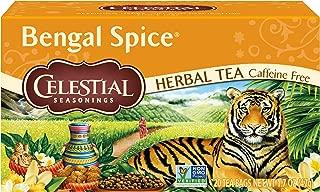 Celestial Seasonings Tea, Bengal Spice, 20 Count Box (Pack of 3)