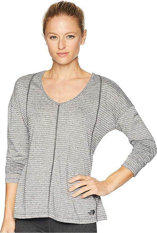 Asphalt Grey Stripe
