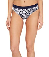 Tommy Bahama IslandActive Paisley Paradise Reversible High-Waist Bikini Bottom