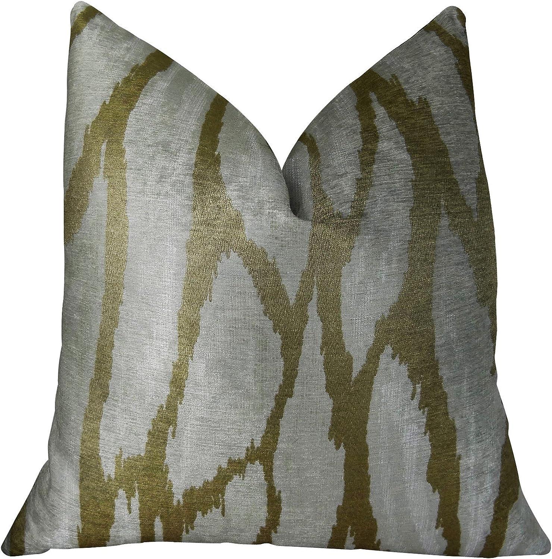 Plutus Brands Plutus Kailua Branch Handmade Luxury Pillow, 12  x 20