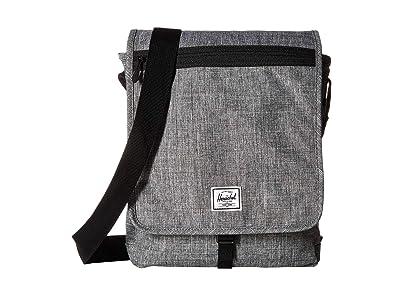 Herschel Supply Co. Lane (Raven Crosshatch) Messenger Bags