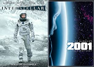 Deep Space Collection - Stanley Kubrick's 2001: A Space Odyssey (2-Disc Special Edition) & Christopher Nolan's Interstellar 2-Movie Bundle