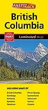 British Columbia - Fast Track - laminated map