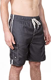 Mens Point Break Boardshort Swim Trunks Bathing Suit, UPF 50+
