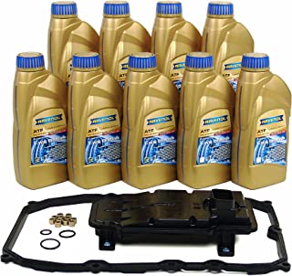 Blau F2A1044-A Automatic Transmission Fluid Filter Kit - Compatible with 2011-15 Audi Q7 w/ 8 Speed Tiptronic