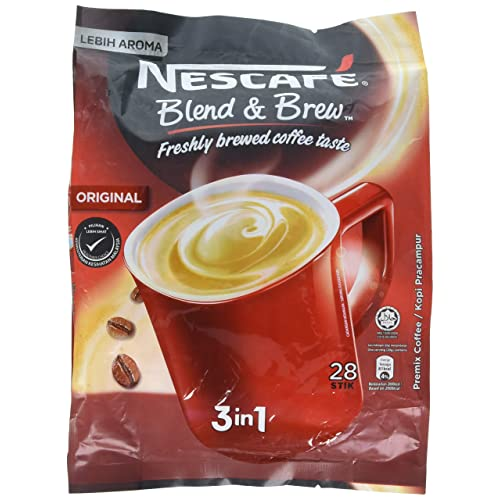 Nescafé 3 in 1 Instant Coffee Sticks ORIGINAL - Best Asian Coffee Imported from Nestle Malaysia