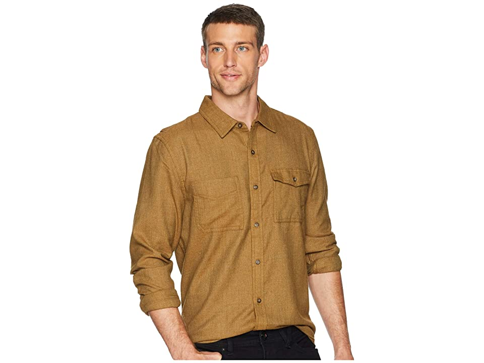 Toad&Co Alverstone Long Sleeve Shirt (Rustic Olive) Men