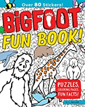 BigFoot Fun Book!: Puzzles, Coloring Pages, Fun Facts! (Happy Fox Books) Over 80 Animal Stickers, plus Activities for Kids including Mazes, Search & Find, Word Search Games, Brainteaser Riddles & More