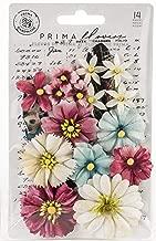 Prima Marketing 637866 Midnight Garden Fabric Flowers 12/Pkg-Dark Romance