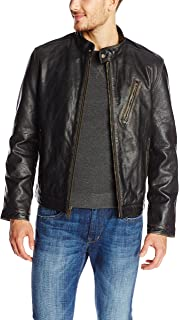 Men's Radford Distressed-Leather Jacket
