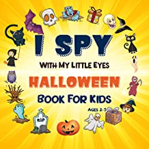 I Spy With My Little Eyes Halloween Book For kids 2-5 PDF