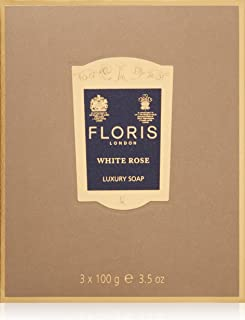 フローリス ラグジュアリーソープWR(ホワイトローズ)3x100g/3.5oz