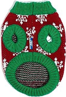 سترة Ugly Christmas للكلاب من سيلفر بو PEPW3020 ، مقاس صغير، لون أصفر