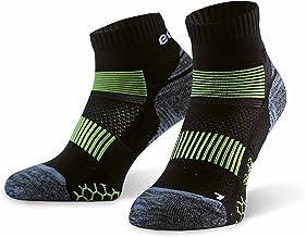 Eono Essentials Calcetines de running para hombre y mujer (paquete de 3), zapatillas deportivas para correr, triatlón, deportes atléticos