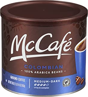 McCafe Colombian Roast Ground Coffee (30 oz Canister)