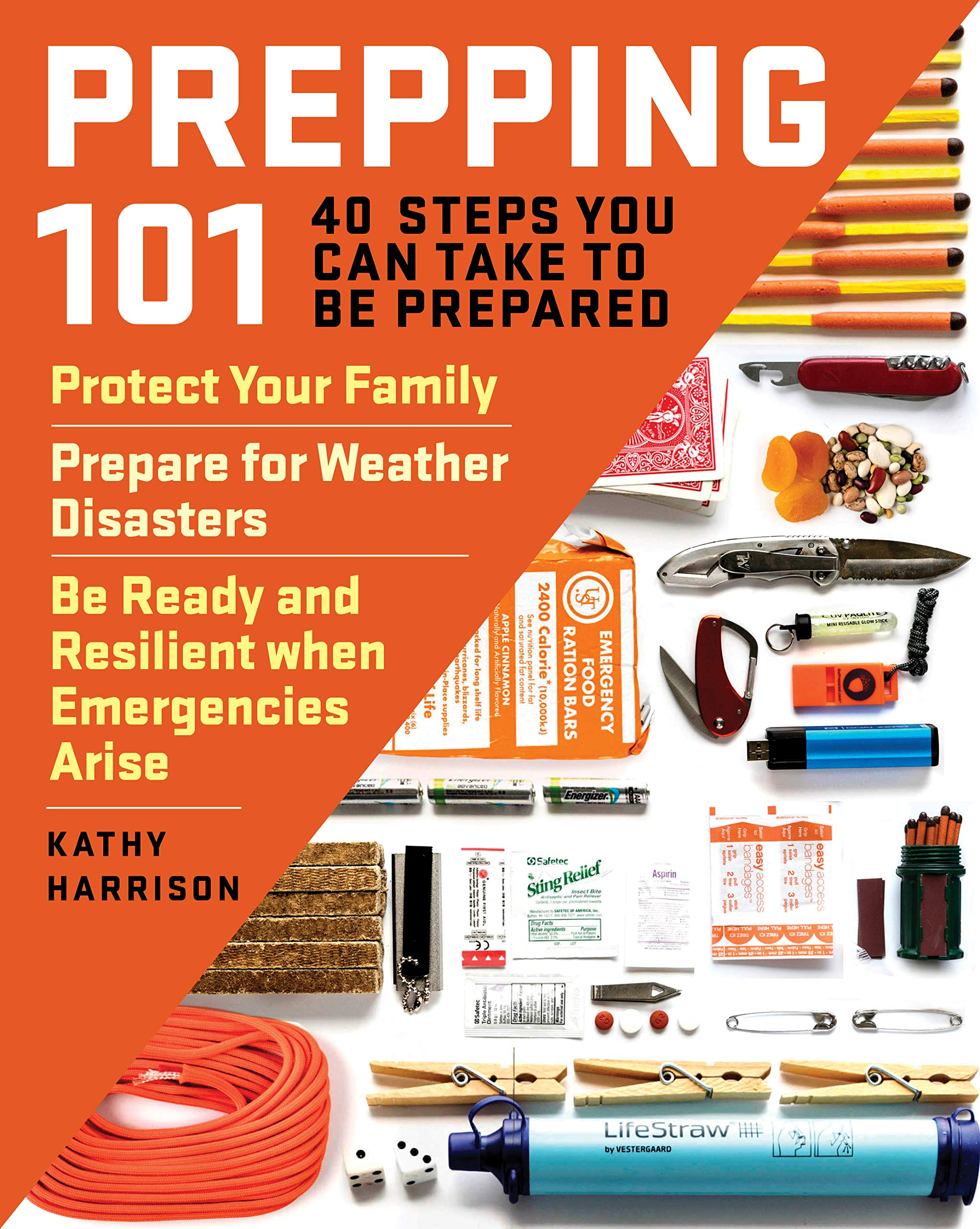 Image OfPrepping 101: 40 Steps You Can Take To Be Prepared: Protect Your Family, Prepare For Weather Disasters, Be Ready And Resil...