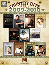 Country Hits of 2009-2010 Songbook: Easy Guitar with Notes & Tab
